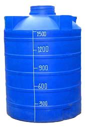 แท็งน้ำพลาสติก 1500 ลิตร