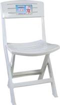 เก้าอี้พลาสติกมุมด้านเฉียง
