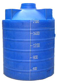 แท็งน้ำพลาสติก 2000 ลิตร